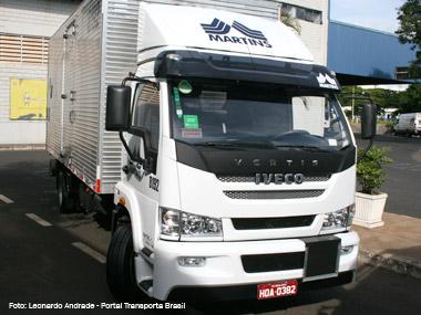 Grupo Martins recebe novo lote do Iveco Vertis