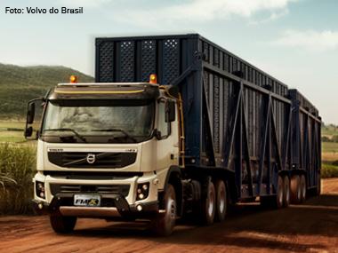 Volvo lança pesado FMX para operações off-road