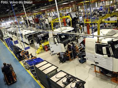 Volvo anuncia pesados investimentos no Brasil