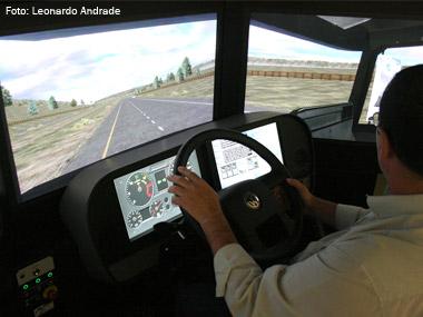Simuladores podem suprir treinamento dos motoristas