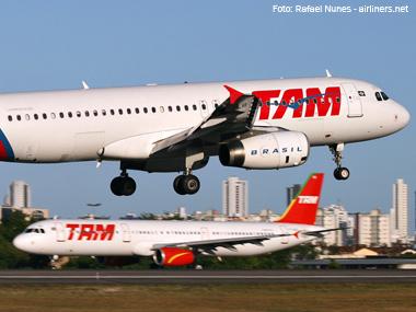 TAM reduz plano de expansão da frota para 2012