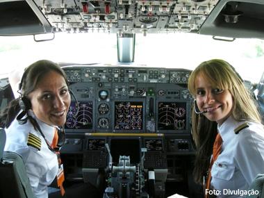 GOL promove mais duas mulheres ao posto de comandante