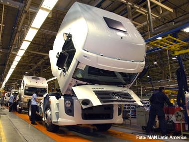 MAN Latin America de Resende (RJ) atinge marca de meio milhão de veículos produzidos