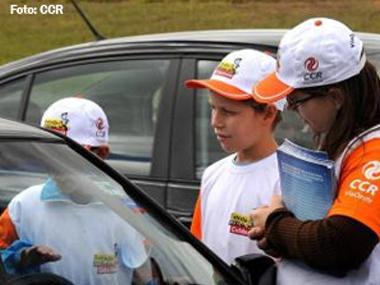 Grupo CCR promove ações de conscientização na Semana Nacional de Trânsito