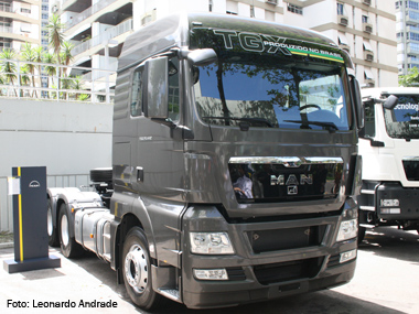 MAN renova linha de caminhões com duas tecnologias para o Euro 5