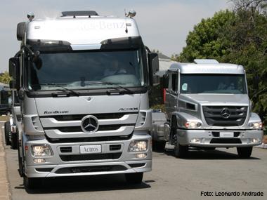 Mercedes apresenta linha de caminhões completamente renovada