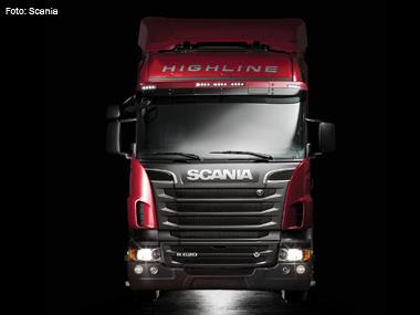 Scania apresenta caminhão a etanol e modelo mais potente do Brasil