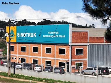 Sinotruk aprimora pós-vendas com novo CD de Peças no Paraná