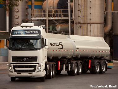 Volvo vende primeiro caminhão Euro 5
