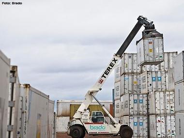 Brado investirá R$ 1,2 bi no transporte de contêineres por ferrovia
