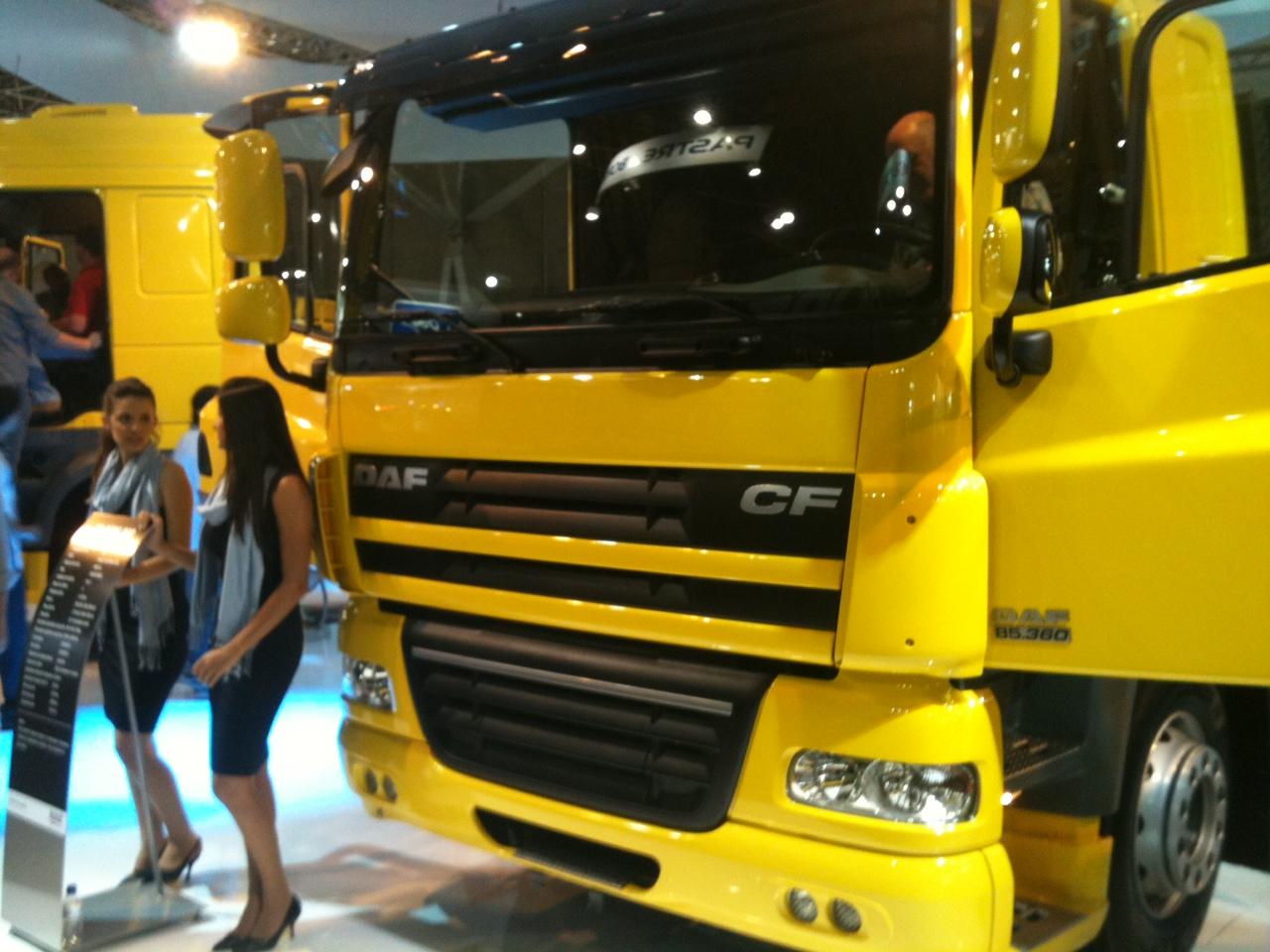 Daf Trucks estreia no mercado brasileiro