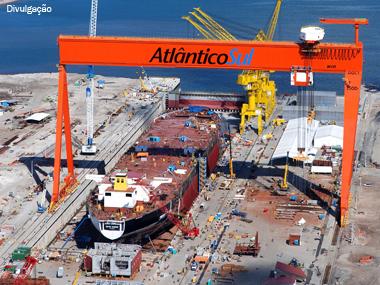 Situação econômica brasileira faz setor naval crescer mais de 10% ao ano