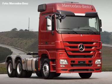 Mercedes-Benz participa da 18ª Fenatran com linha inteiramente renovada