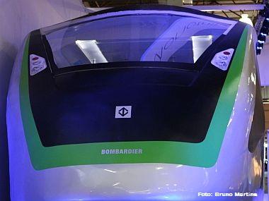 Bombardier apresenta maquete em tamanho real do Monotrilho Leste