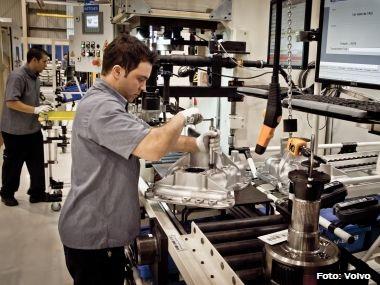 Volvo abre fábrica de caixas de câmbio I-Shift no Brasil