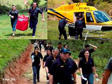 DHL coloca sua experiência logística a serviço da humanidade