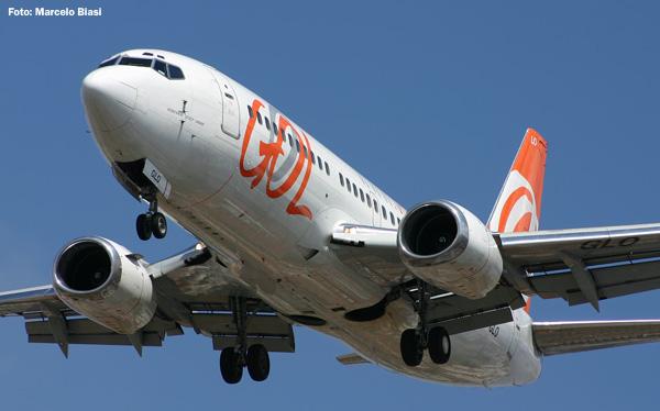 GOL realiza primeiro voo comercial com biocombustível