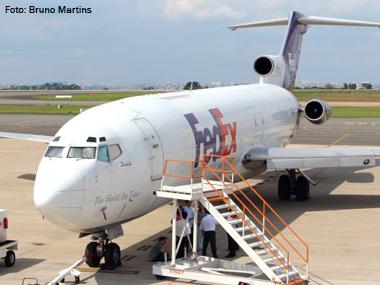 FedEx conta com três cargueiros para suas operações no Brasil