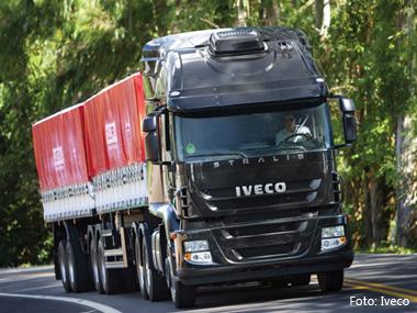 Iveco vendeu 22.700 veículos no Brasil durante o ano passado