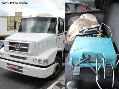 Polícia Federal prende quadrilha de roubo de caminhões em SP