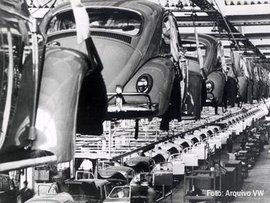 Volkswagen comemora 59 anos de Brasil com 19 milhões de veículos fabricados