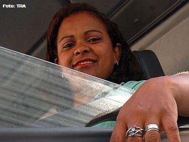 Motorista amazonense é símbolo da igualdade entre homens e mulheres no transporte