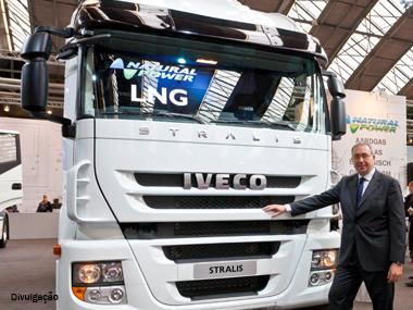 Iveco lança Stralis movido a gás na Europa