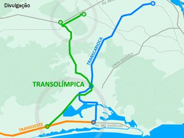 CCR, Odebrecht e Invepar investirão R$ 1,6 bilhão na construção da Transolímpica no RJ