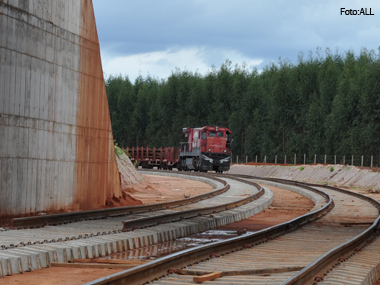 ALL inaugura trecho ferroviário que liga Alto Araguaia a Itiquira, no Mato Grosso