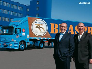 Braspress comemora 35 anos de história