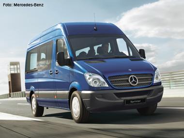 Mercedes-Benz apresenta nova Sprinter e aposta no mercado de vans