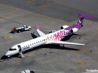 Pluna suspende todos os voos por tempo indeterminado