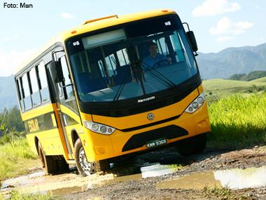 MAN vai fornecer 4 mil ônibus para programa do Governo Federal