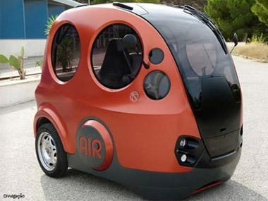 Montadora indiana desenvolve carro movido a ar comprimido