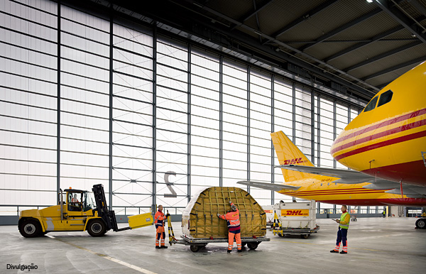 DHL-hangar