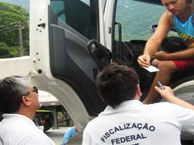 Operação da ANTT gera R$ 4 milhões em multas