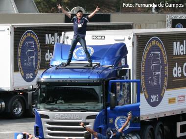 Autônomo do RS é o Melhor Motorista de Caminhão do Brasil