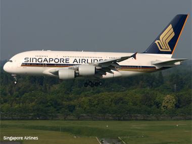 Singapore Airlines completa cinco anos voando com o gigante A380