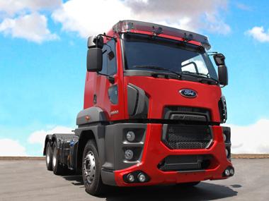 Brasil desenvolve 1º caminhão extra pesado global da Ford