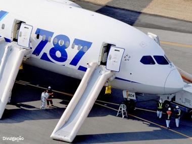 Boeing retoma fase de testes para o 787 Dreamliner