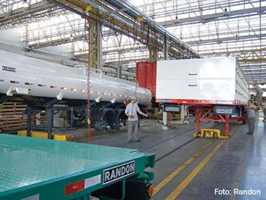 Ano de 2012 representou queda de quase 16% na produção de implementos rodoviários