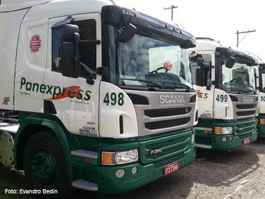 Transportadora Panex compra 20 caminhões Scania Euro 5