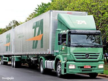 Transportadora Americana reforça operações no Sul do Brasil