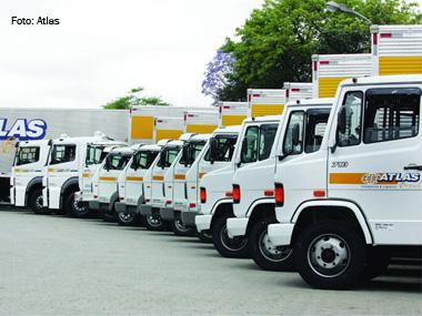 Atlas investe R$ 18 milhões em caminhões e implementos