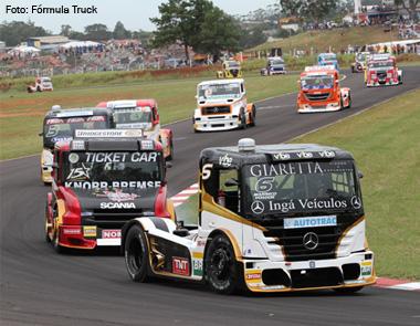 Superior Mercedes Benz Domina O Pódio Na Primeira Etapa Da Fórmula Truck 2013