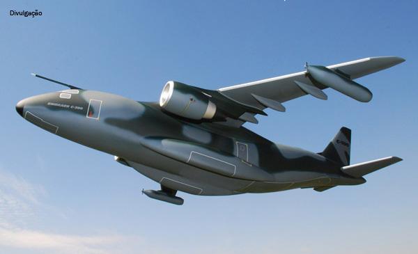 KC-390 da Embraer realiza volta ao mundo em 40 dias