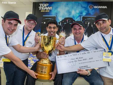 Competição Top Team da Scania define melhor equipe de manutenção