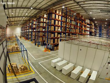 Merck inaugura Centro de Distribuição no Rio de Janeiro