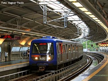 Metrô de São Paulo completa 45 anos