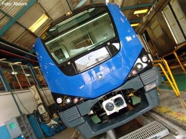 Alstom do Brasil conclui fabricação de nove trens para a Índia